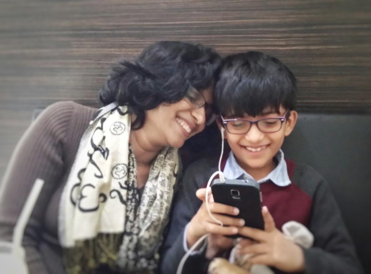 Rishi and Ramya